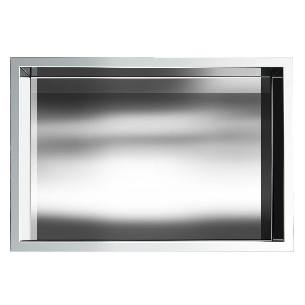 Jag Plumbing Products 12 in. x 18 in. Stainless Steel Shower Niche in Chrome by JAG