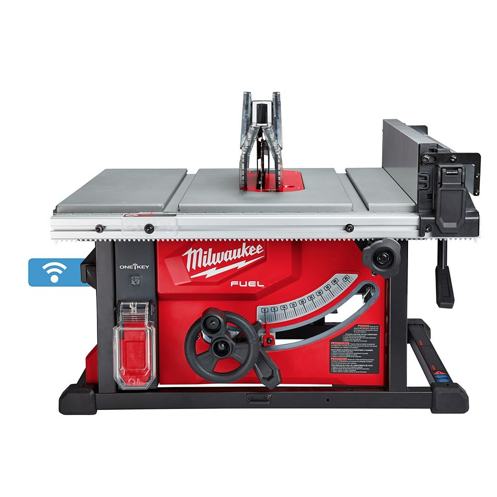 Milwaukee Tool M18 FUEL ONE-KEY 18V Lithium-Ion Brushless Cordless 8-1/4-inch Table Saw (Tool Only)