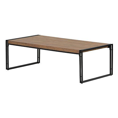 Table à café Gimetri, Bambou rustique