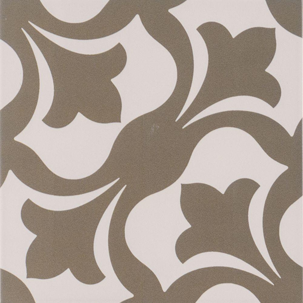 MSI Stone ULC Anya 8-inch x 8-inch Glazed Porcelain Floor and Wall Tile (5.16 sq. ft. / case)
