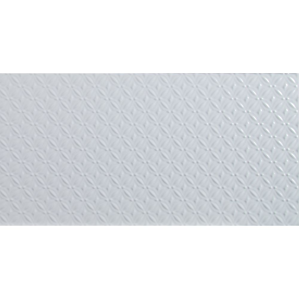 MSI Stone ULC Dymo Pattern White Glossy 12-inch x 24-inch Glazed Ceramic Wall Tile (16 sq. ft. / case)