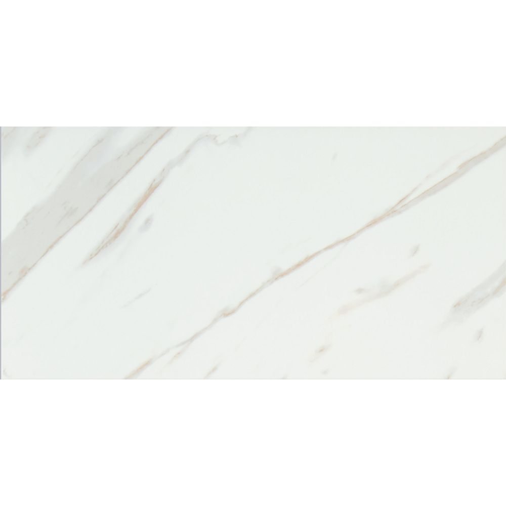 MSI Stone ULC Calacatta 12-inch x 24-inch Glazed Porcelain Floor and Wall Tile (16 sq. ft. / case)