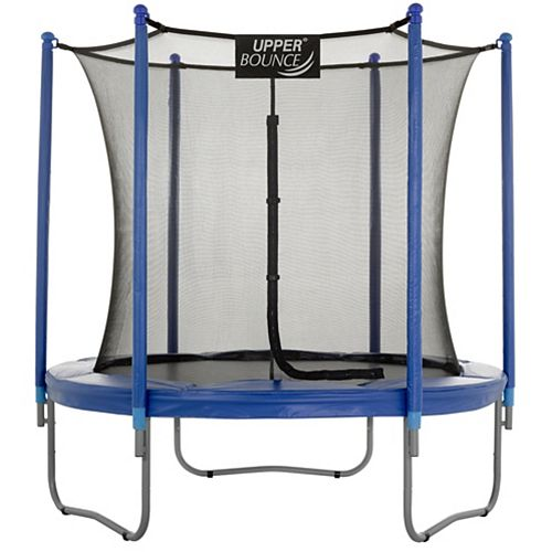 7.5 ft. Trampoline & Enclosure Set equipped with the New EASY ASSEMBLE FEATURE