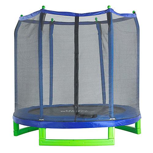 7 ft. Indoor/Outdoor Classic Trampoline & Enclosure Set