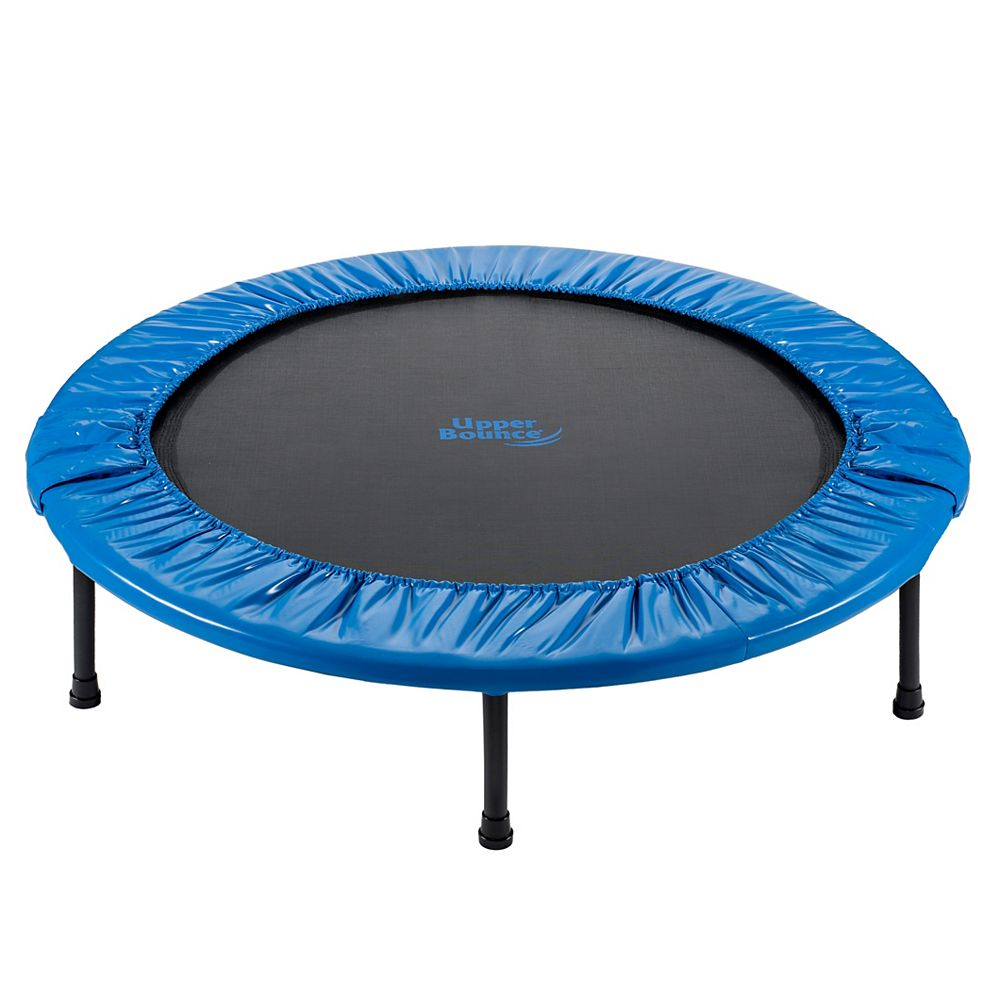 Upper Bounce 44 inch Mini Foldable Rebounder Fitness Trampoline | The Home Depot Canada
