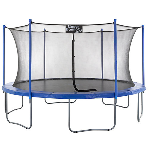 15 ft. Trampoline & Enclosure Set equipped with the New EASY ASSEMBLE FEATURE