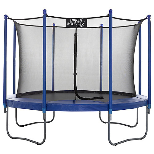 10 ft. Trampoline & Enclosure Set equipped with the New EASY ASSEMBLE FEATURE