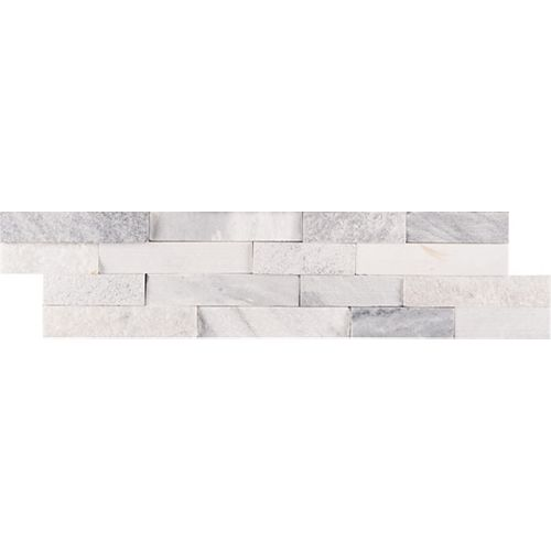 MSI Stone ULC Alaska Multi Ledger Panel 6-inch x 24-inch Natural Marble Wall Tile (60 sq. ft. / Pallet)