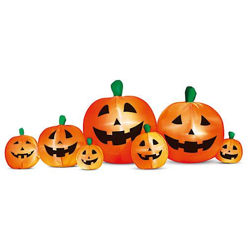 Halloween 8 pi Patch gonflable de citrouille
