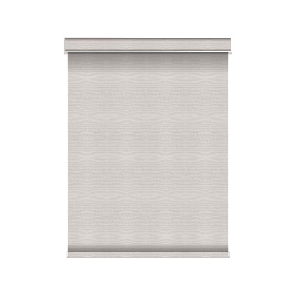 Sun Glow Tissue Opaque Toiles à Rouleau - sans Chaîne avec Cantonnière  - 40.5-po X 60-po en Glace