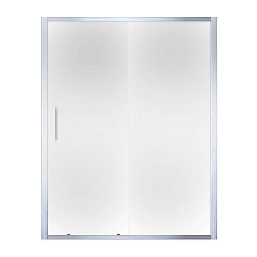 XDS54 Squeeze Door Plain Silver