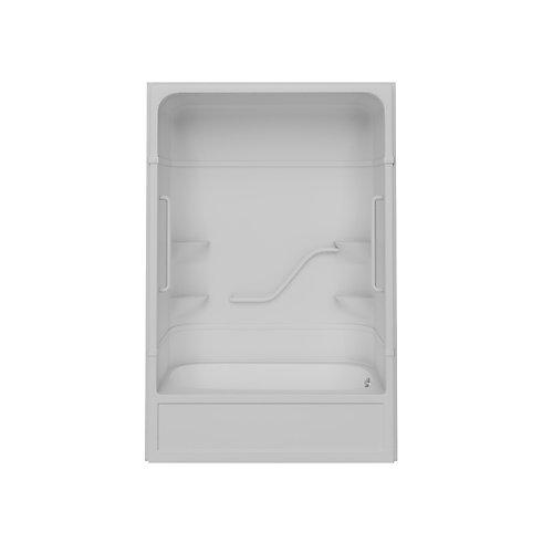 White Free Living Parker 16 T/S White Bars Right