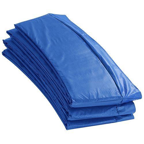 Coussin de sécurité de remplacement de Super trampoline  pour cadres ronds de 14 pieds-bleu