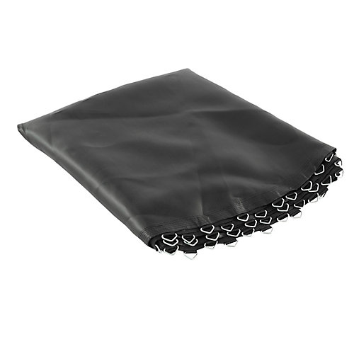 Trampoline Replacement Mat, fits for 8 ft. Round Frames with 48 V-Rings, 5.5 inch springs -MAT ONLY