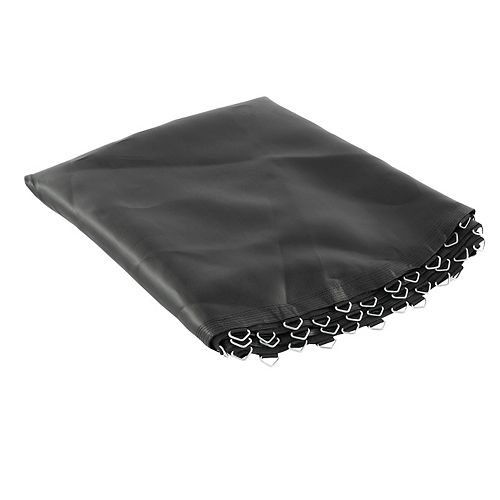 Trampoline Replacement Mat, fits for 10 ft. Round Frames with 56 V-Rings, 5.5 inch springs -MAT ONLY