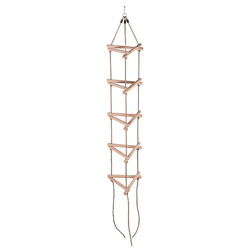 5 Steps Triangle Climbing Rope Ladder - Fully Assembled