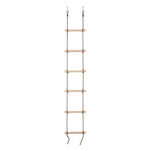 6 étapes gymnastique escalade corde échelle-entièrement assemblé