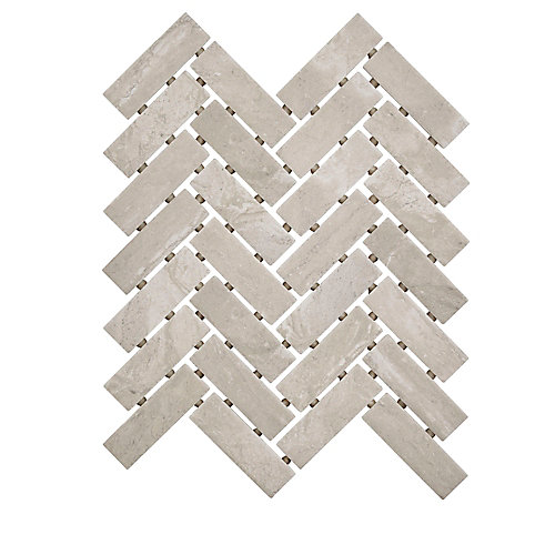 Silverlake 9-inch 12-inch x 6 mm Ceramic Herringbone Mosaic Tile (0.60 sq. ft. / piece)