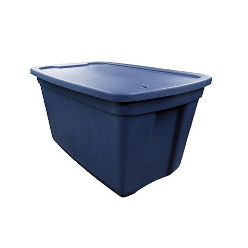 Bac fourre-tout, 76L, bleu