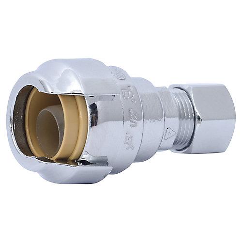 Adapter 1/2 Inch Sb X 3/8 Inch Comp