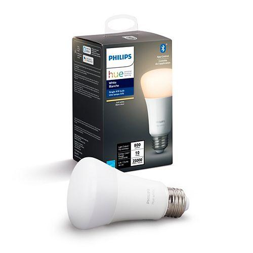 Hue White A19 ampoule intelligente DEL