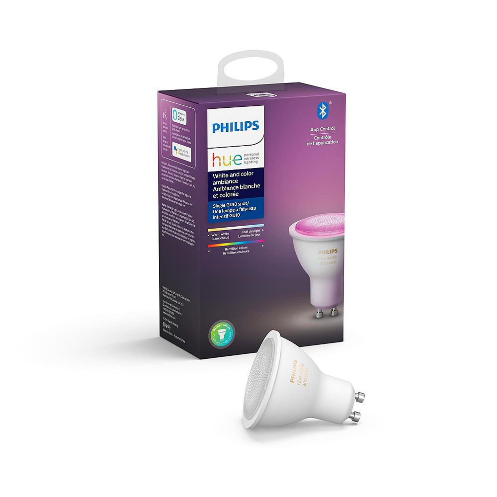 Philips HUE White Ambiance & Colour GU10 Single with Bluetooth
