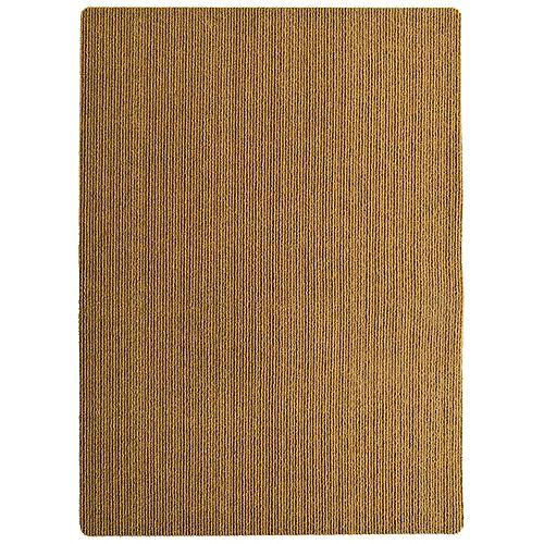 Lanart Rug Faux Coir Natural 24-inch x 36-inch Indoor/Outdoor Mat