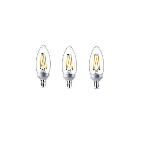 40W CanBawse Soft White Warmglow CRI90 LED Light Bulb (3-Pack)