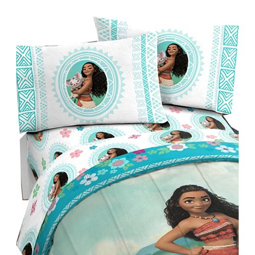 Moana Twin Sheet Set