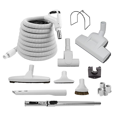 Air Turbo Central Vac 30 ft. Hose and Accessory Kit