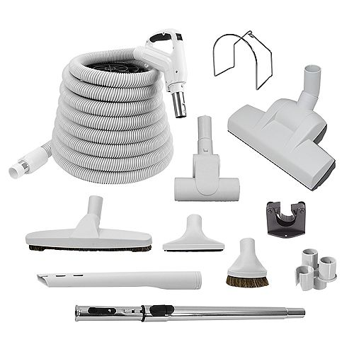 Canavac Air Turbo Central Vac 30 ft. Hose and Accessory Kit