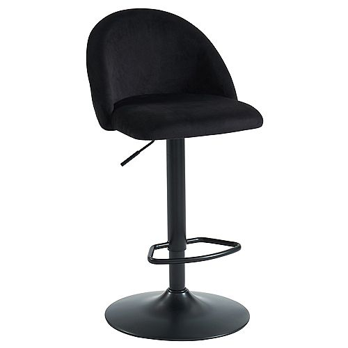 Sataro-Air Lift Stool-Black