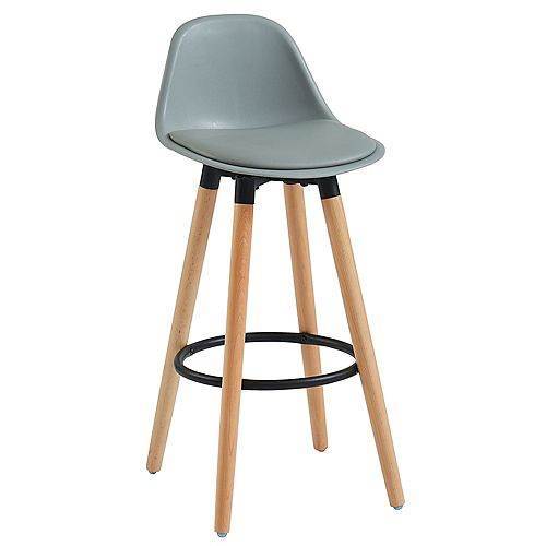 Diablo-26 in Counter Stool-Grey - Set Of 2