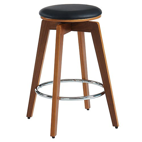 Rotman-26 in Counter Stool-Black - Set Of 2