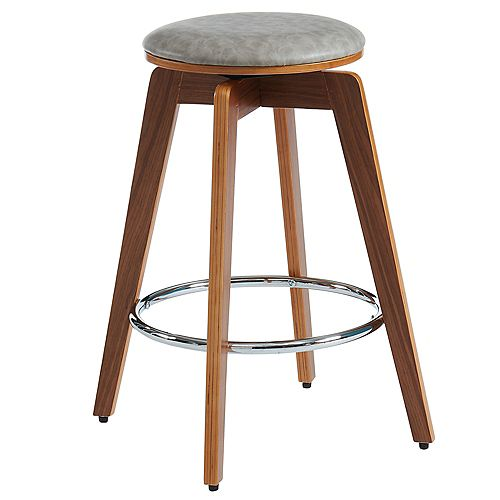 Rotman-26 in Counter Stool-Grey - Set Of 2
