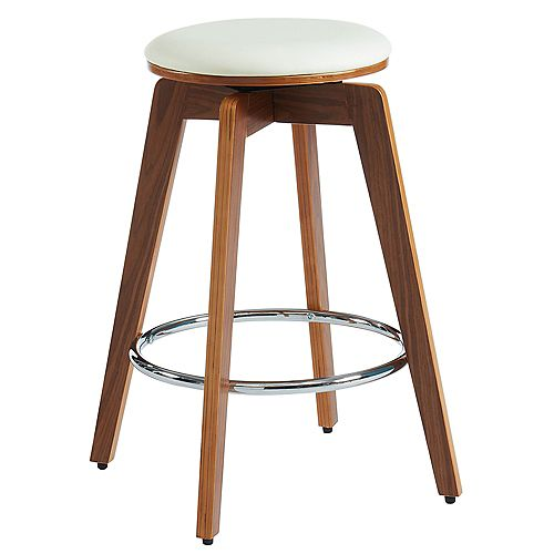 Rotman-26 in Counter Stool-Ivory - Set Of 2