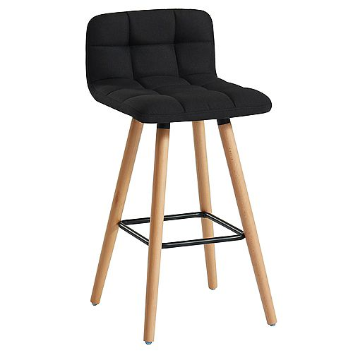 Rico-26 in Counter Stool-Black- Set Of 2