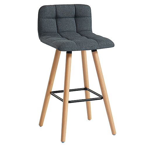Rico-26 in Counter Stool-Charcoal- Set Of 2