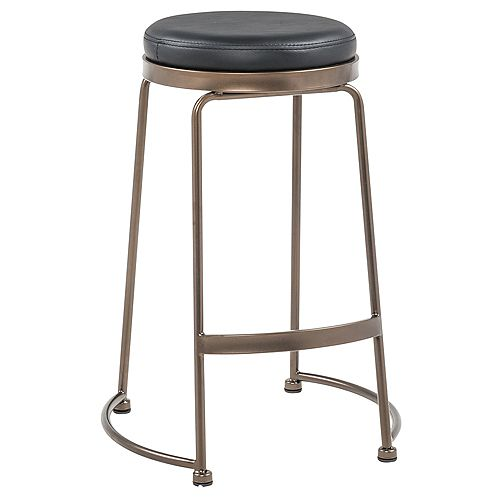 Alina-26 in Counter Stool-Black- Set Of 2