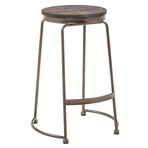 Alina-26 in Counter Stool-Elm Wood - Set Of 2