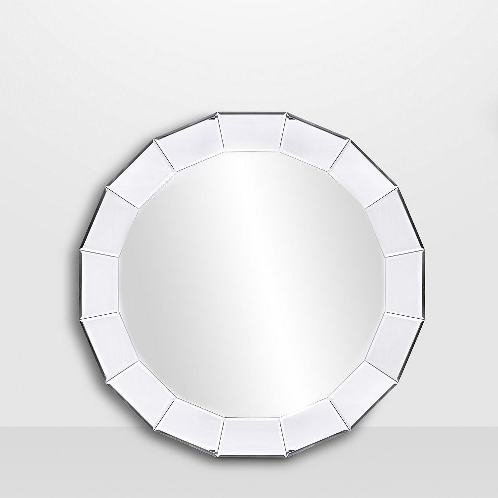 The Tangerine Mirror Company Scalloped Mirror