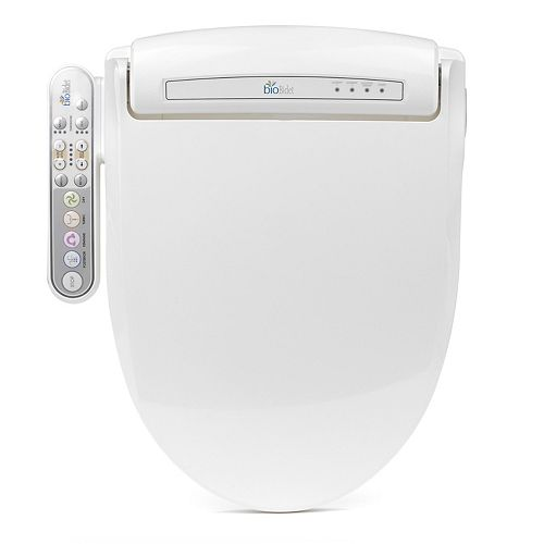 Bio Bidet Prestige BB-800 Electric Bidet Seat for Elongated Toilet in White