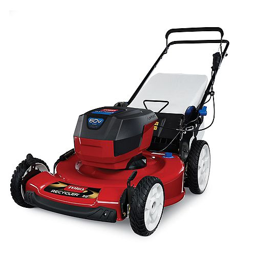 Recycler 22-inch 60V Max Cordless Electric Lawnmower (Tool Only)