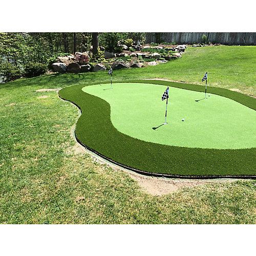 Putting Green 56, Custom Cut 1 ft. x 15 ft. Artificial Lawn Turf Grass