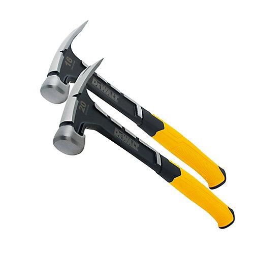 16 OZ. & 20 OZ. ONE-PIECE STEEL HAMMER (2 PACK)