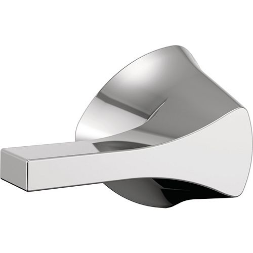 Levier de la cuvette des toilettes Zura Universal de 9,5 pouces en chrome poli