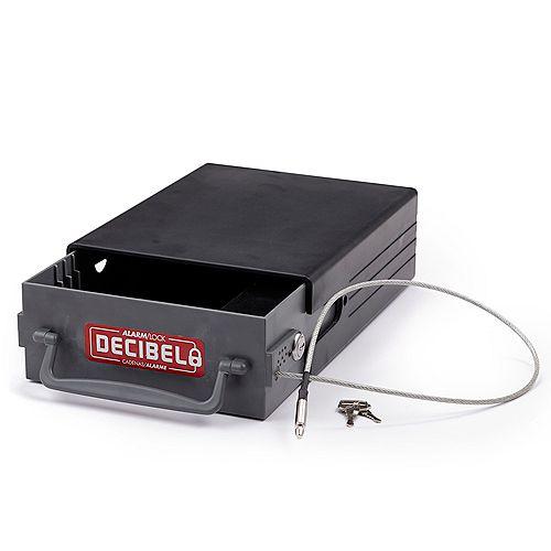 Coffre-fort de voyage Decibel avec alarme - Robuste et durable