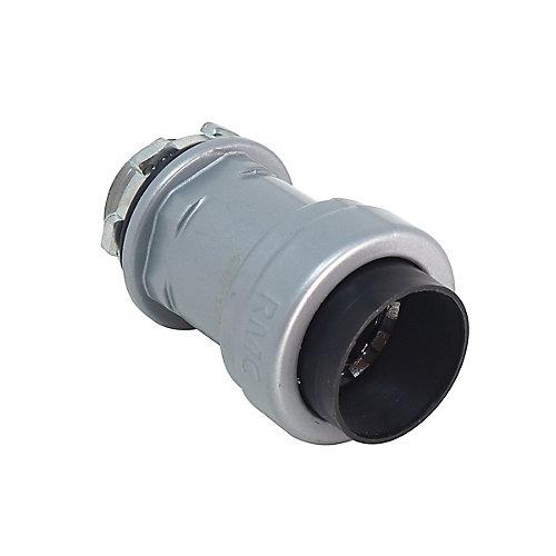 Connecteur de boîte SIMPush Rigide et IMC 3/4po