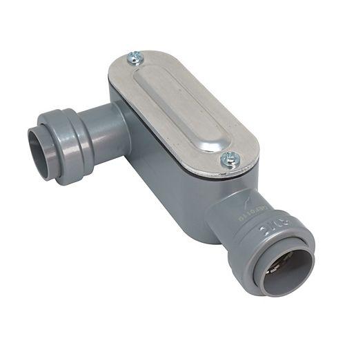 1/2 inch Rigid & IMC SIMPush Type-LR Conduit Body