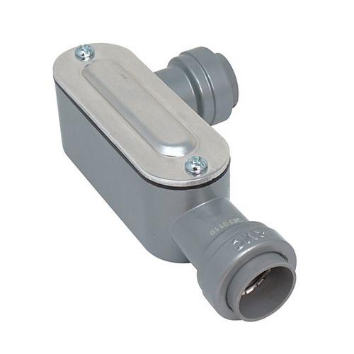 1/2 inch Rigid & IMC SIMPush Type-LL Conduit Body